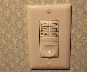 bathroom fan light switch dewstop humidity review bathroom fan timer
