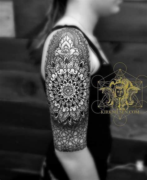 mandala tattoo upper arm 288 best images about on pinterest mandala thigh tattoo