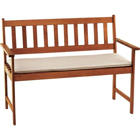 bench watches argos buy cream cushion for 4ft garden bench at argos co uk