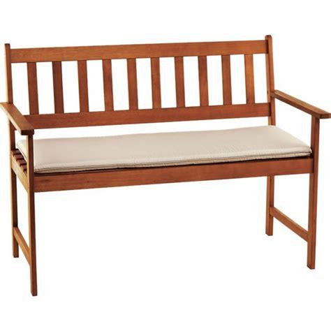 4ft garden bench cushion buy cream cushion for 4ft garden bench at argos co uk