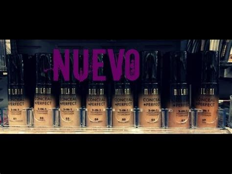 10752 Mirani 2 In 1 nueva base de milani conceal 2 in 1 foundation
