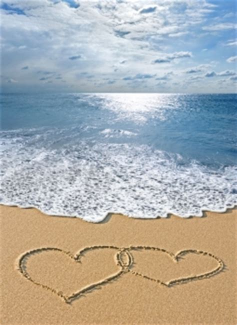 imagenes de corazones en la playa foto mural playa corazones playas