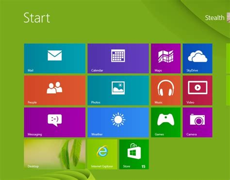 change the size of tile sized windows start screen with