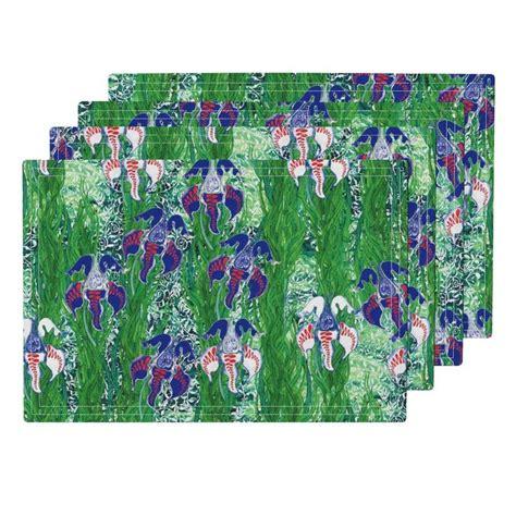 ottomans at garden ridge home decor pinterest lamona cloth placemats featuring ottoman iris by