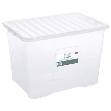 large storage box  lid  storage boxes bm