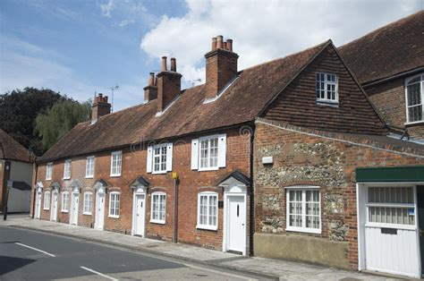 Cottages Chichester by Cottages In Chichester Stock Image Image Of Window