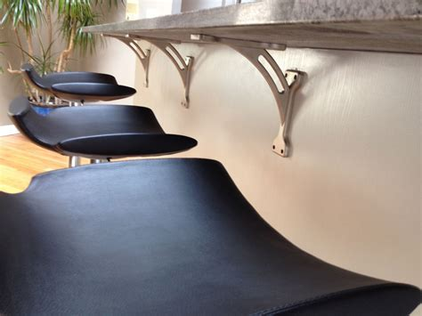 Excellent Modern Kitchen Island Design Featuring Floating