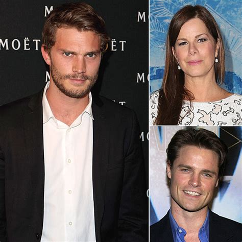 cast of fifty shades of grey interviews 50 shades of grey movie cast popsugar entertainment