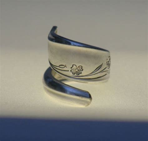 spoon ring antique silver spoon rings purity ring