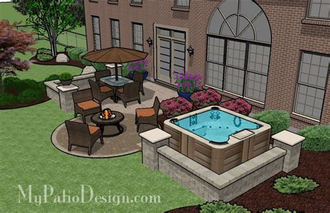 patio tub tub patio design patio designs and ideas outdoor living tub patio