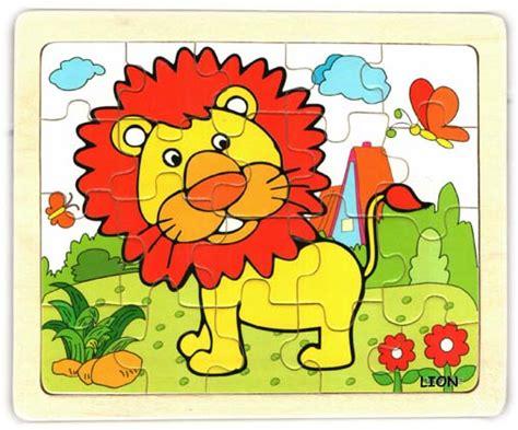 Puzzle Wajah Anak Wanita jual mini puzzle binatang buas zona mainan anak