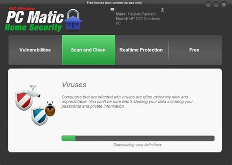 pc matic home security 1 0 screenshot
