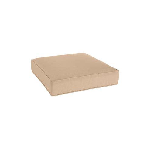 outdoor pouf ottoman cushion martha stewart living charlottetown green bean replacement