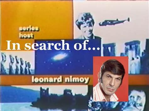In Search in search of leonard nimoy s 1970s reality show