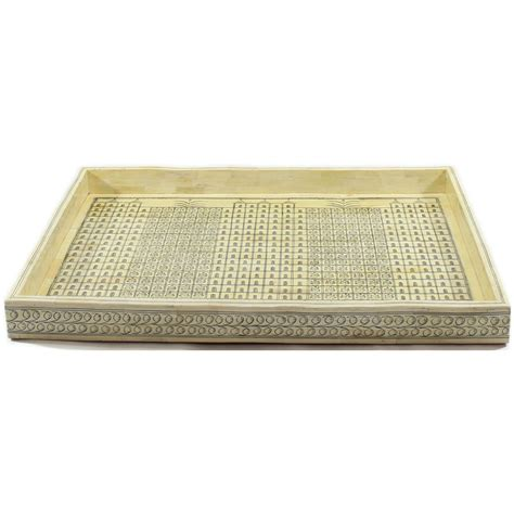 decorative tray trays home decor kohlus with