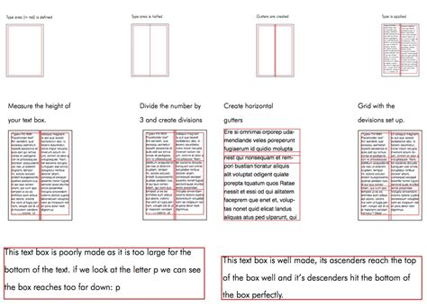 typography grid system layout mandatory assignment michelles