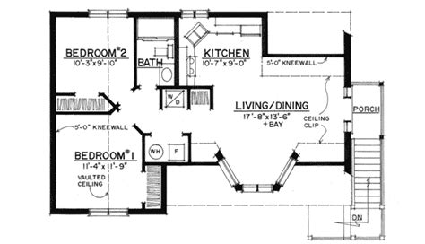 big garage  compact apartment pf architectural