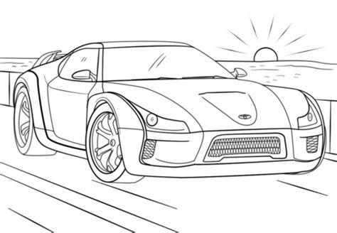 370z Coloring Page by Disegno Di Toyota Supra Da Colorare Disegni Da Colorare