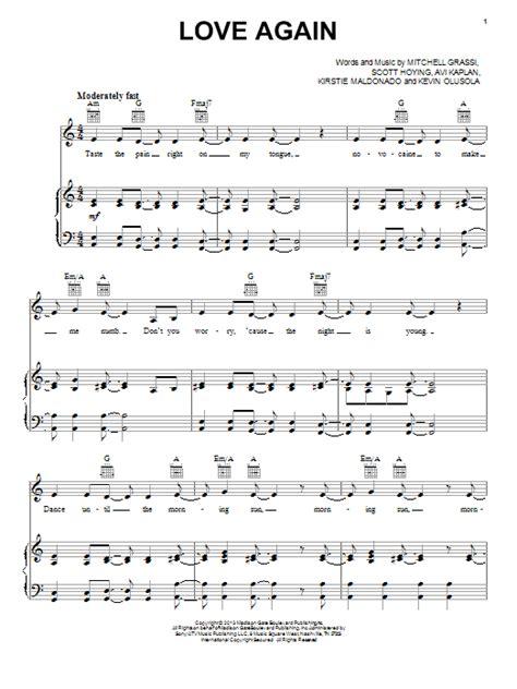 song pentatonix again sheet by pentatonix piano vocal