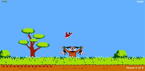 Duck Hunt duck hunt remake html5 play on mobile or tablet