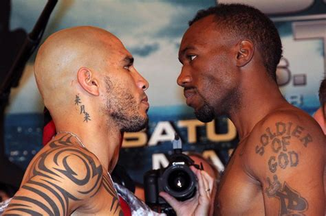 miguel cotto tattoo cotto trout official weigh in proboxing fans