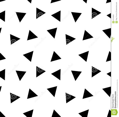 black triangle pattern vector seamless triangle pattern stock vector image 61124094