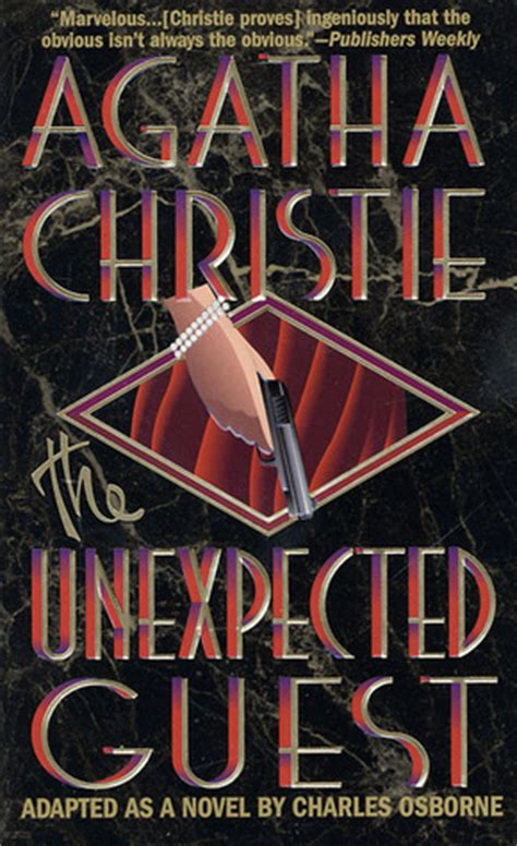 the unexpected guest the unexpected guest by agatha christie reviews discussion bookclubs lists