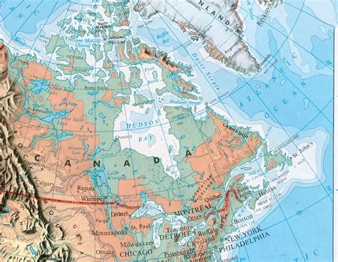 america map hudson bay trek what does the map of earth map look like in