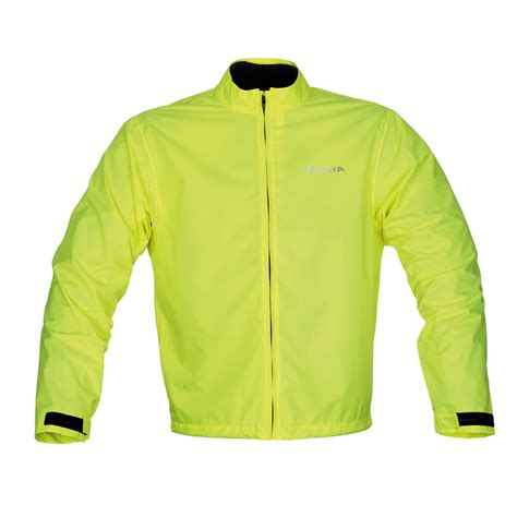 fluorescent waterproof cycling jacket richa fluorescent rain hi viz waterproof motorbike