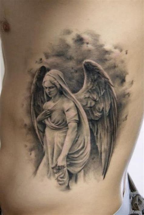 realistic angel tattoo designs tattoos for and and the meaning of the