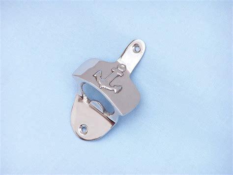 anchor bottle opener wall mount buy chrome wall mounted anchor bottle opener 3 inch