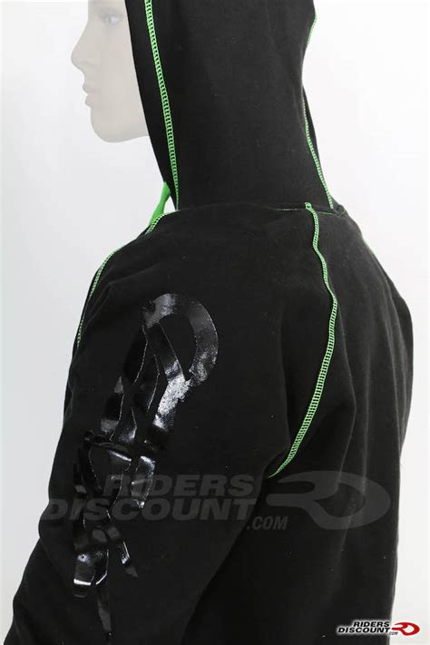 Hoodie Kawasaki Zc speed strength quot united by speed quot armored hoody