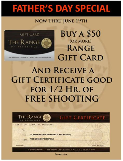 day special gift for s day special give the gift of the range the