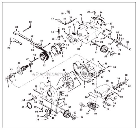 kirby vacuum parts diagram kirby 1hc parts list and diagram ereplacementparts