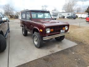 1975 Ford Bronco For Sale For Sale Is A 1975 Ford Bronco 4x4 Restored For Sale