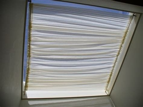 how to make skylight curtains how to make a skylight shade