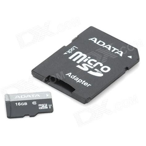 Micro Sd Adata 16gb Class 10 adata 16gb class 10 micro sd tf memory card w sd