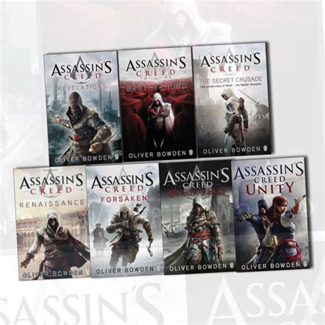 heresy assassins creed book 0718186982 assassins creed 7 books collection set by oliver bowden renaissance revelations ebay