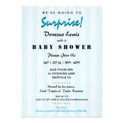Elephant Baby Shower Balloons - surprise baby shower invitations amp announcements zazzle com au