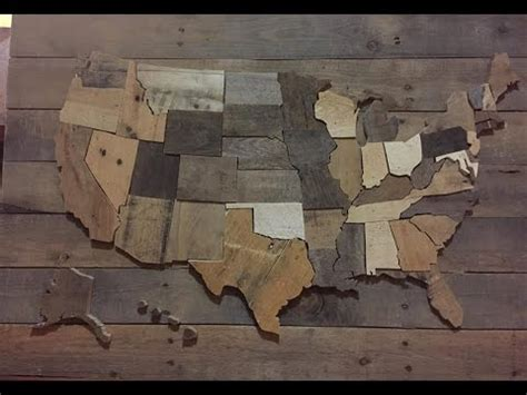 united woodworking diy united states wall map usa decor pallet wood