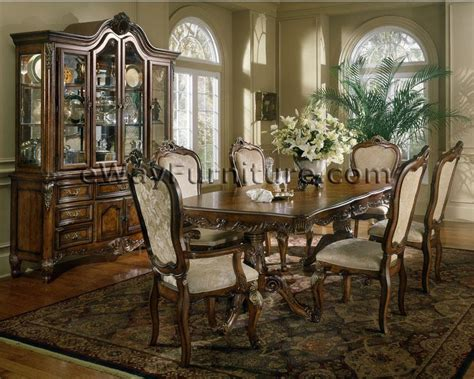 provincial dining room furniture provincial pedestal dining table with wood back chairs set