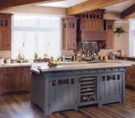Kitchens With Different Colored Islands by Kitchen Cabinet Color Accents