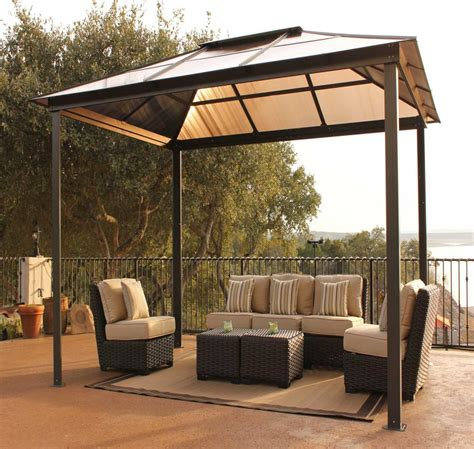 outdoor gazebo canopy backyard canopy gazebo versatile and highly portable