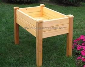 raised garden table tool free install