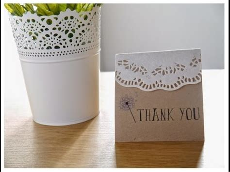 diy easy rustic bohemian wedding thank you cards