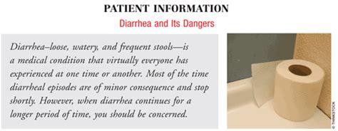 diarrhea how to assist the patient