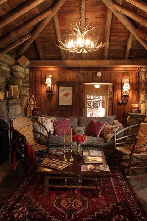 17 best ideas about rustic cabin decor on