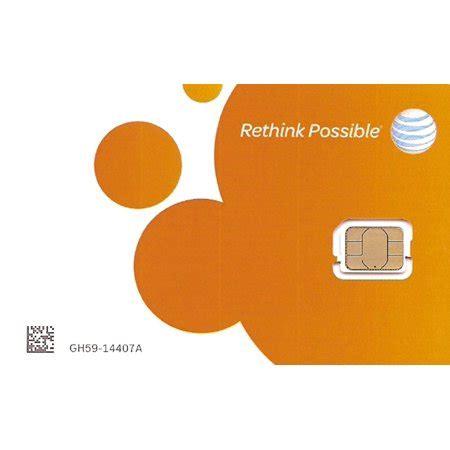 4ff Sim Card Template by At T Nano Sim Card 4ff For Iphone 5 5c 5s 6 6 Plus