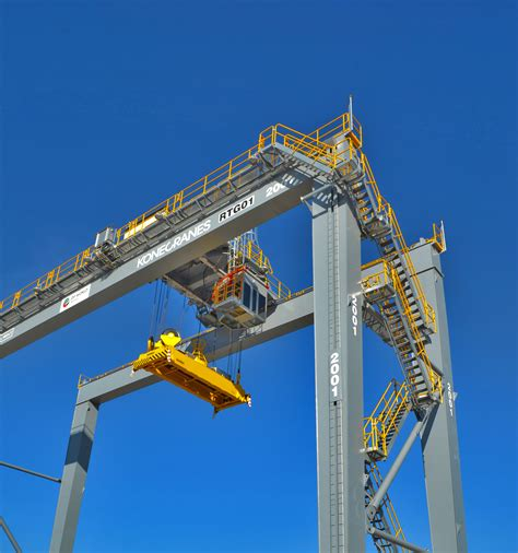 accounting rubber sts 100 rubber tired gantry cranes konecranes rail