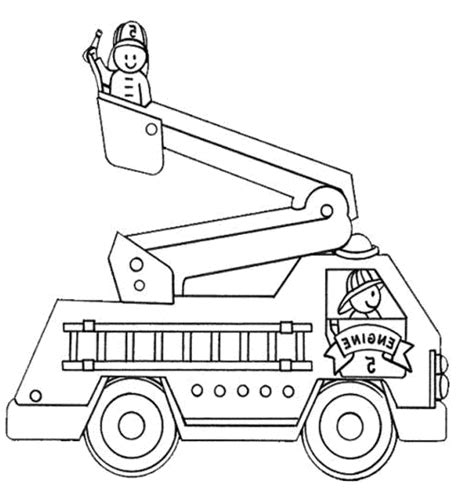 fire truck coloring pages printable kids colouring pages